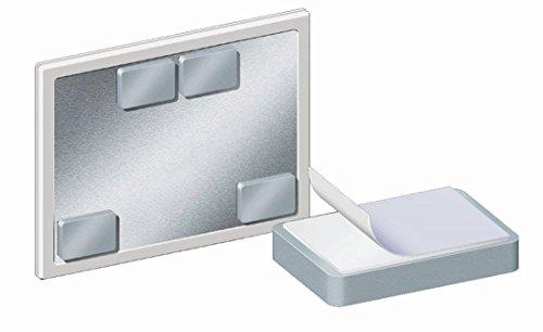 Legamaster 7-184000 blokmagneet, voor montage van boards aan metalen wanden, zelfklevend, 1 stuk