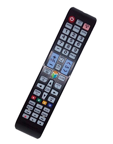 Replaced Remote Control Compatible for Samsung UN32J550D UN48J5500 UN50JS7000FXZA UN60JS700DF UN65JU650DFX UN40JU6500FXZA Smart LED LCD HD TV