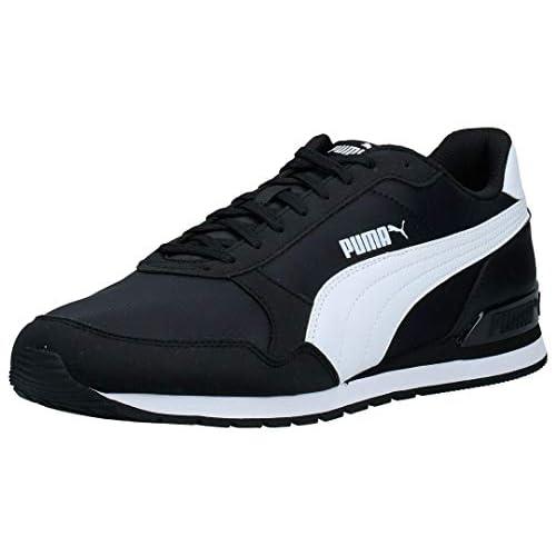 PUMA ST Runner v2 NL, Sneaker Unisex-Adulto, Nero Black White, 35.5 EU