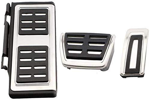 Cuscinetto di protezione Pedale dell'automobile Acciaio pedale auto decorazione piede in acciaio Accessori auto copertura, Fit For Audi A3 S3 8V RS3 Sportback Cabrio 2012 + A3 Limousine 8V 2013 +, Col
