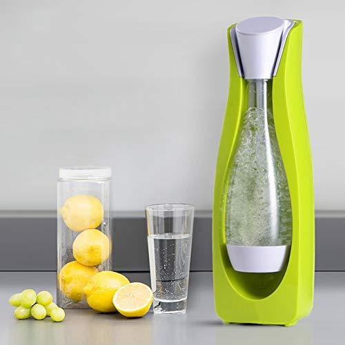 XLNB Soda Stream Maker, Fabricant d'eau Pétillante, Machine à Soda, Machine à Eau Gazeuse pour La Maison 160 * 150 * 460mm,Vert
