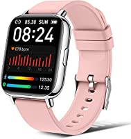 """andfive Smart Watch, Fitness Tracker with 1.69"""" Touch Screen, Heart Rate Monitor, IP68 Waterproof Pedometer Step Counter..."""