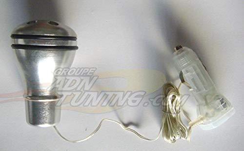 Pommeau de levier de vitesse a LED blanc - NA72 - 12V - 666-CaL ADNAuto