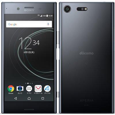 SONY 【SIMロック解除済】docomo Xperia XZ Premium SO-04J Deepsea Black