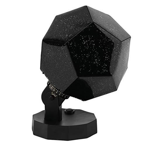 #N/V Star Sky Proyector romántico Cosmos Noche Lámpara LED Proyección Lámpara Lámpara de Proyección Dormitorio Portátil Decoración Hogar Regalo de Niños