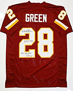 darrell green autographed jersey