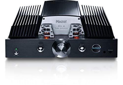 Magnat Rv4 Black Integrierter Hybrid-Verstärker Leistung 2x150 Watt