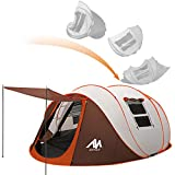 ayamaya Pop Up Tents with Vestibule for 4 to 6 Person - Double Layer Waterproof 3 Season Easy Setup Big Family...