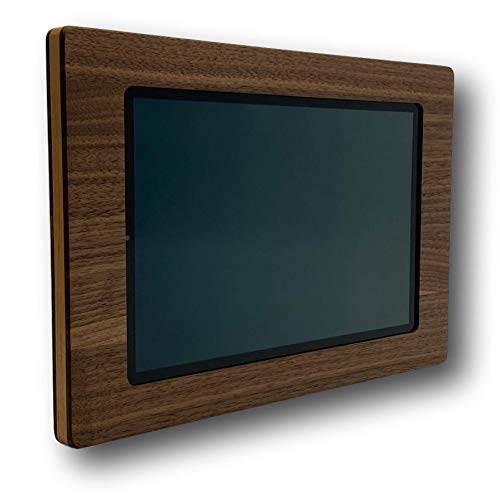 Tablet Halterung Wand Holz für Samsung Galaxy Tab S5e 10.5 T720 / T725 (2019) aus Nussholz