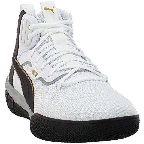 PUMA Mens Legacy '68 Basketball Casual Shoes, Black, 13