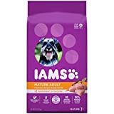 IAMS PROACTIVE HEALTH Mature Adult Dry Dog Food for Senior Dogs with Real Chicken, 7 lb. Bag