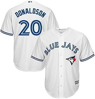 YQSB Joueur Baseball Jersey Ligue majeure de Baseball Miami Marlins Sportswear V/êtements de Baseball brod/és