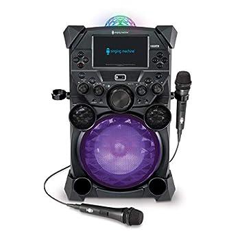 Singing Machine Home Karaoke System Grey  SDL9050