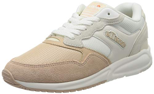 ellesse Damen Nyc84 Sneaker, Mehrfarbig (White/Natural/Off White Wht/Nat/Off Wht), 37 EU
