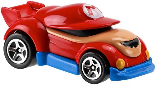 Mattel Hot Wheels FGK28 vehículo de Juguete - Vehículos de Juguete, Coche, Super Mario, Mario, 3 año(s), 1:64