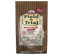 Skinner's Field & Trial Working 23 Dry Dog Food 15kg is a balanced dry food for active and working dogs With beef high content of animal protein to support optimal performance and stamina With an energy-rich mix of grains a concentrated energy conten...