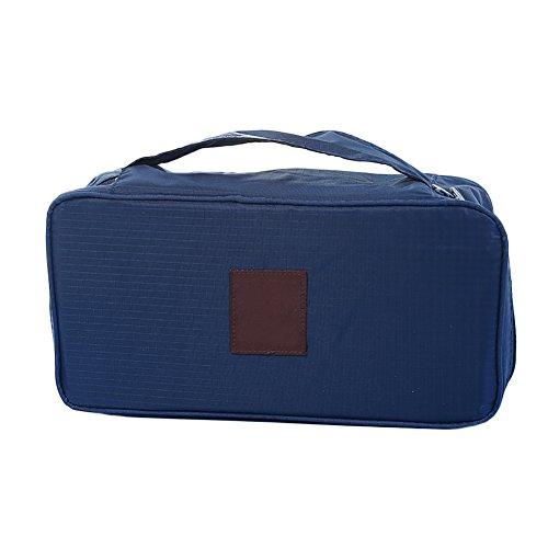 Chytaii Sac de Vêtements Sac de Rangement Voyage Valise Organisateur Portable avec Fermeture Eclair Zippé en Tissu Oxford