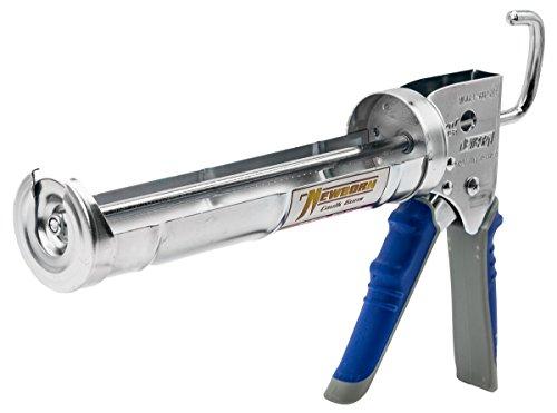 Newborn 960-GTR Super Ratchet Rod Cradle Caulking Gun with Gator Trigger Comfort Grip, 1/10 Gallon Cartridge, 6:1 Thrust Ratio