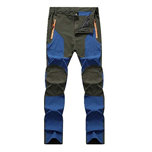 N\P Stretch Hombre Pantalones Casual para Hombre Primavera/Otoño Impermeable Pantalones de Chándal de los Hombres