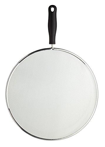 KitchenCraft Frying Pan Splash Guard / Splatter Screen, Large, 28 cm