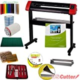 31.5' USCutter Laserpoint II Vinyl Cutter Bundle - Sign Cutting Plotter with Design & Cut Software