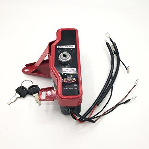 Cancanle Caja del Interruptor de Encendido con Llaves para Honda GX160...