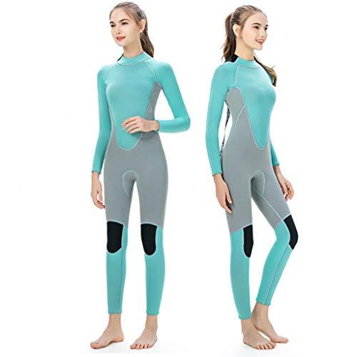Vrouwen Full Body Wetsuits Premium 3mm neopreen UV-bescherming Back Zip Duiken Snorkelen surfen zwemmen Fullsuit Jumpsuit