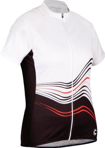 Cannondale Frequency - Maillot de Ciclismo, Color Blanco, Talla M