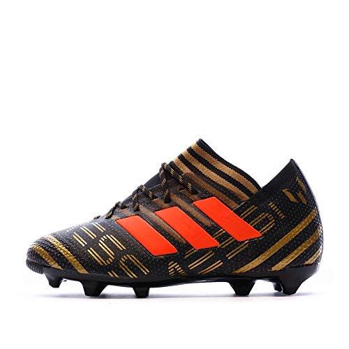 adidas Unisex-Kinder Nemeziz Messi 17.1 FG Fußballschuhe, Schwarz (Core Black/Solar Red/Tactile Gold Metallic), 29 EU