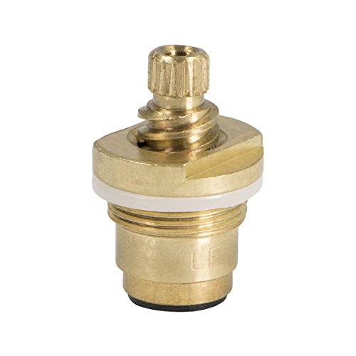 Everflow Supplies 41261-NL tallo de agua caliente de latón sin plomo para grifos de lavabo Gerber y cocina