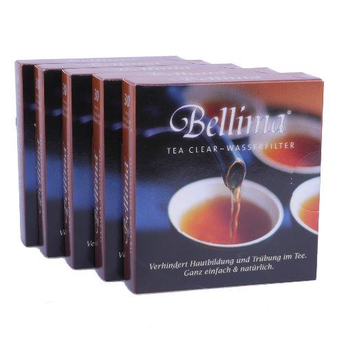 Bellima Filterfächer - Das MUSS für Teetrinker (5 Pakete á 30 St.) Ideal auch in Kombi mit Aquadea Kristall-Wirbler.