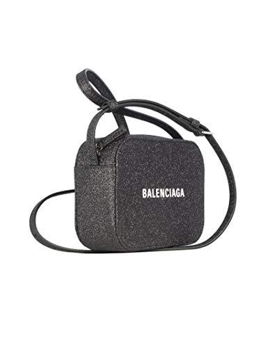 Luxury Fashion | Balenciaga Womens 5523720XV3N1000 Black Shoulder Bag | Fall Winter 19