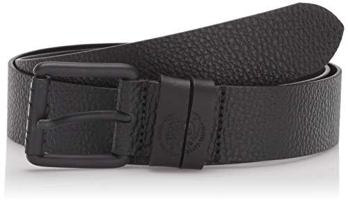 Diesel Herren B-CANARO-Belt Gürtel, schwarz, 95 cm
