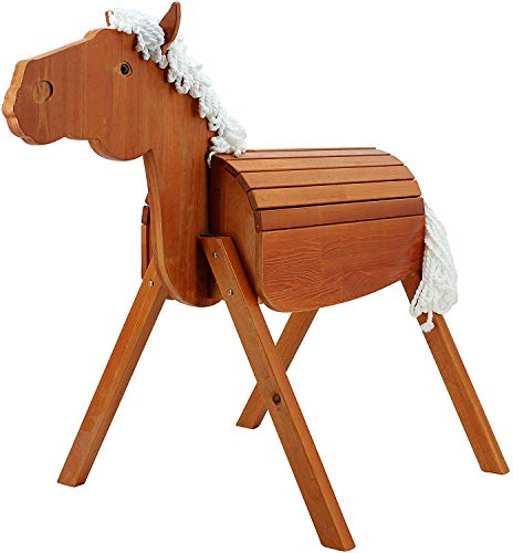 Sweety Toys 12947 Outdoor Gartenpferd Holzpferd Stella Größe L 118 cm