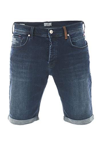 LTB Herren Jeans Bermuda Corvin Slim Fit Shorts Baumwolle Denim Kurz Short Blau Dunkelblau Schwarz S M L XL XXL 3XL 4XL 5XL, Größe:XXL, Farbe:Gorbi Undamaged Wash (52286)