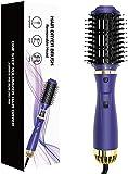 Deasy Cepillo secador iónico con cabezal extraíble, ideal para pelo medio corto, 1200 W