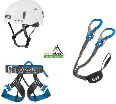 LACD - Set da Arrampicata Via Ferrata PRO Evo 2.0 + Cinghia Via Ferrata Light Protector 2.0