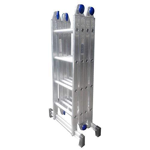 Escada Alumínio Articulada Multifuncional 4x4-4,61 m Real