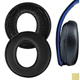 Geekria Earpad for Playstation Gold Wireless Stereo Headset/Sony PS4 / PS3 / PSV Gold Wireless Headphone Replacement Ear Pad/Cushion/Ear Cups/Ear Cover/Earpads Repair Parts (Black)