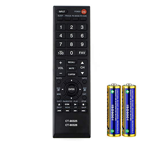Universal Remote Control for Toshiba Smart TV Remote Control All Models LCD LED 3D HDTV CT-90325 CT-90326