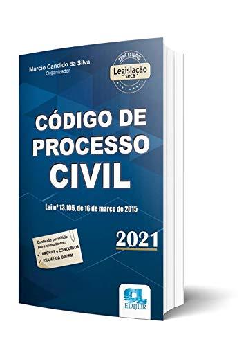 Código De Processo Civil - Série Legislação 2021 - 4a. Edição