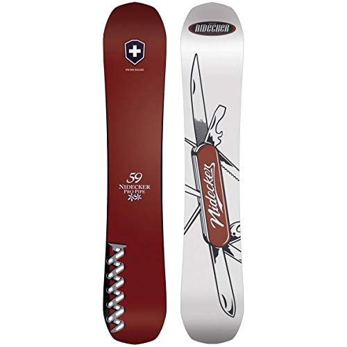 Nidecker Herren Freestyle Snowboard Swiss Knife 19, Größe:153, Farben:no Colour