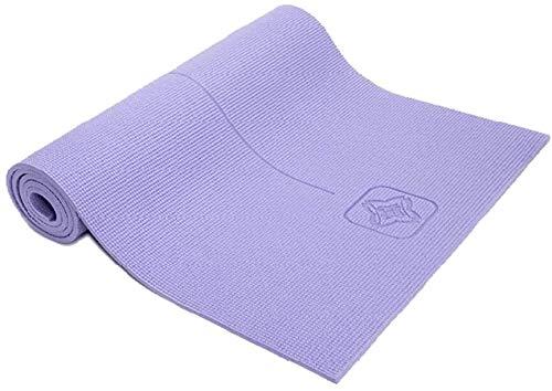 GDFEH Esterilla de yoga antideslizante de 8 mm de grosor más larga para mujeres y hombres para hombres y mujeres, gimnasio en casa, fitness, pilates, aeróbicos (color: morado)