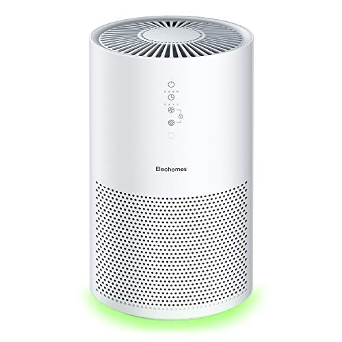 Elechomes Pro Series Air Purifier for Large Room with True HEPA Filter, Air Cleaner for Pets, Smokers, Pollen for Bedroom Home Office 280 ft², Smart Air Sensor, Auto Mode, Timer, EPI236