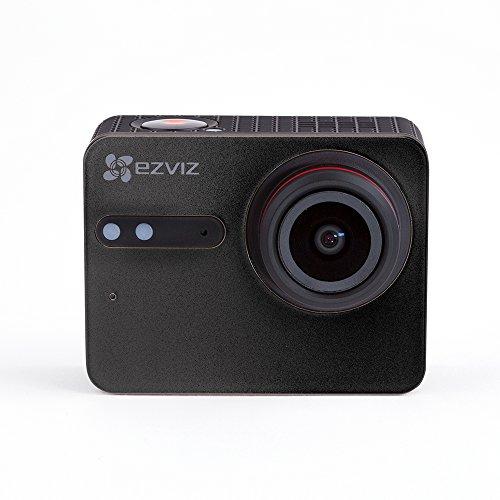EZVIZ S5 Plus Cámara de Acción 4K Cámara Deportiva, 12MP, Carcasa Resistente al Agua, Banda Dual, Bluetooth 4.0 BLE, Micrófono dual, Procesador de Vídeo Ambarella