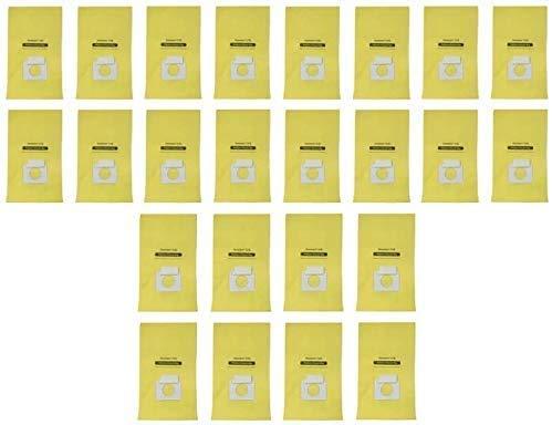 EFP - Bolsas de repuesto antimicrobianas para aspiradoras Kenmore Canister Q C, 5055, 50555, 50557, 50558 y Panasonic tipo C-5 (24 unidades)