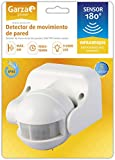 Garza Power - Detector de Movimiento Infrarrojo de Pared, Ángulo de...