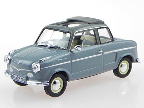 NSU Prinz II 1959 grau Modellauto 831014 Norev 1:43