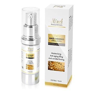 Total Eye Serum - Best Anti-Aging Eye Serum for Dark Circles Puffiness Fine Lines Crow s Feet Reduce Wrinkles Eye Bags Moisturize & Lift Skin for Men and Women