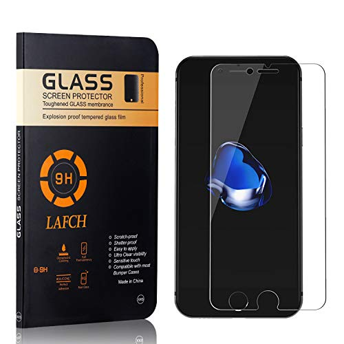 1 Stück Panzerglasfolie Schutzfolie Kompatibel mit iPhone SE 2020 / iPhone 8 / iPhone 7, LAFCH HD Klar Gehärtetem Glas Displayschutzfolie für iPhone SE 2020 / iPhone 8 / iPhone 7